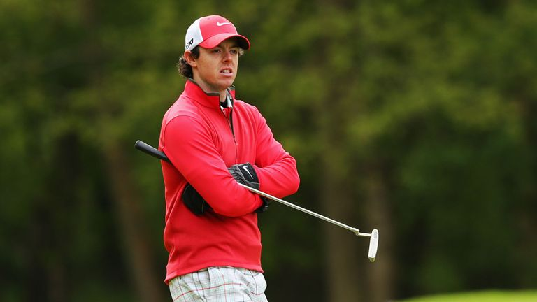 Rory McIlroy: Felt the cold at Wentworth