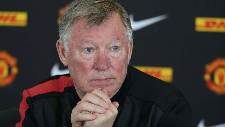 Sir Alex Ferguson: Stepping down as Manchester United after 26-and-a-half-year reign