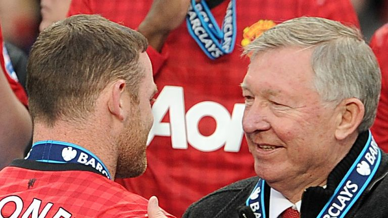 Sir Alex Ferguson discusses his relationship with Wayne Rooney in his new book