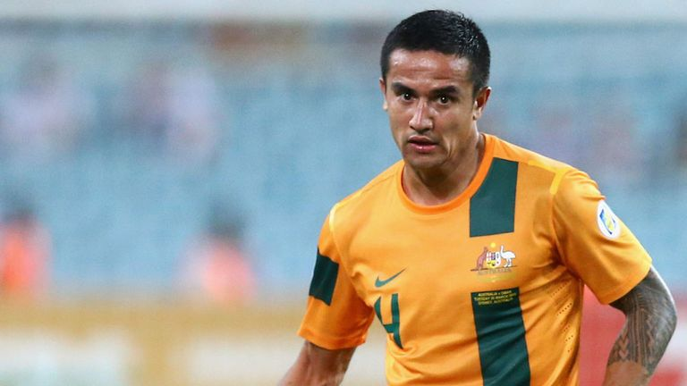 Tim Cahill: On target for the Socceroos