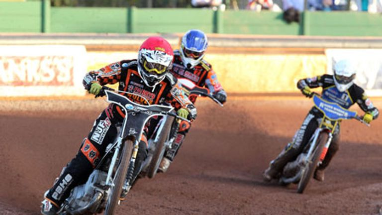 Tai Woffinden: Top form from Wolves top man (Pic credit John Hipkiss)