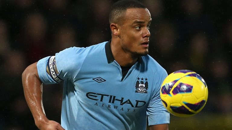 Vincent Kompany: Aiming for a second FA Cup success in three years on Saturday