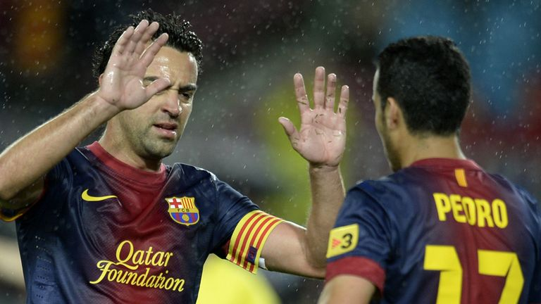 Pedro: Opened the scoring for Barca