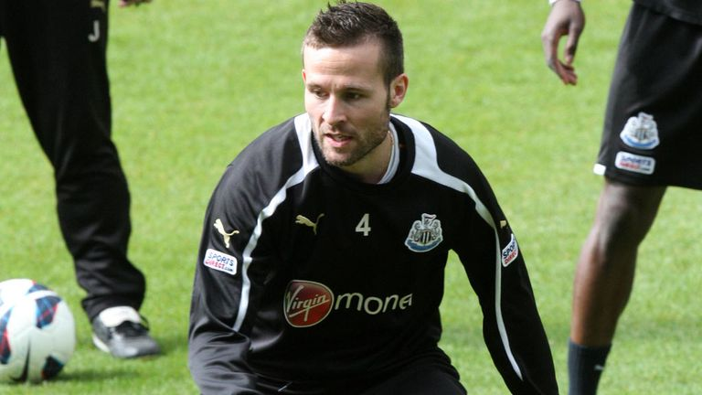 Yohan Cabaye: Newcastle's midfielder said to be attracting interest from PSG and Spurs.