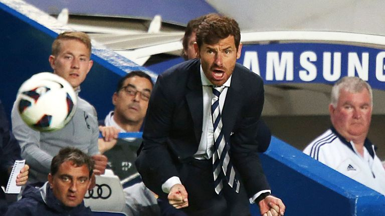 Andre Villas-Boas: Tottenham boss will keep fighting for Champions League
