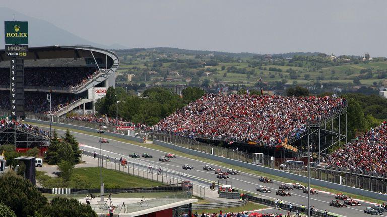 Circuit de Catalunya hosted Sunday's race