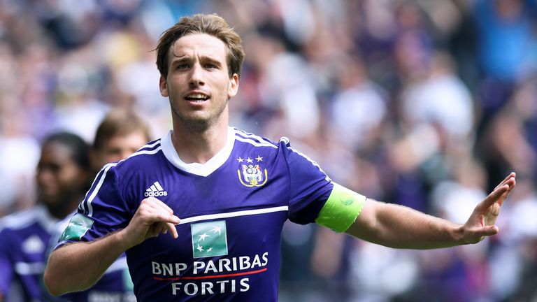 Lucas Biglia: Set to leave Anderlecht for Serie A