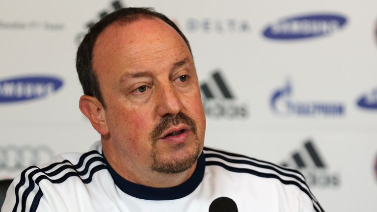 Rafael Benitez: Has taken Chelsea to the Europa League final this season