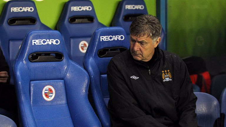 Brian Kidd: Admits to being shocked by events at Manchester City in recent days