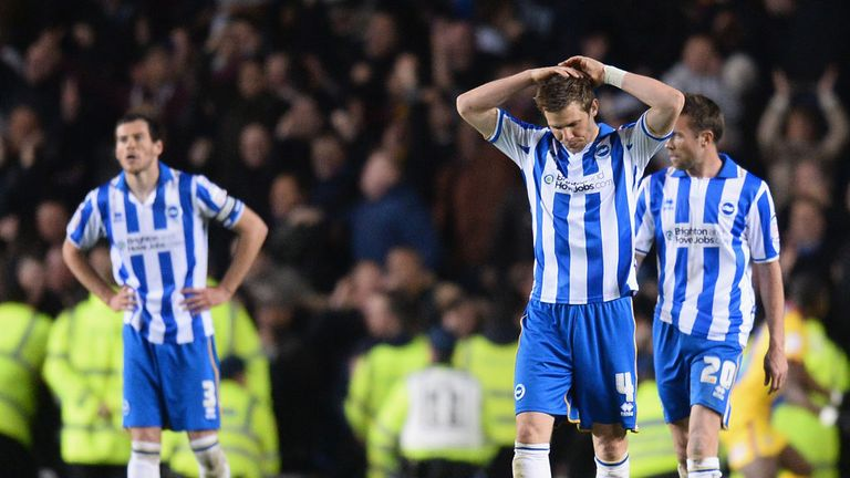 Brighton: Face a difficult start to the season with games against Leeds, Derby and Birmingham
