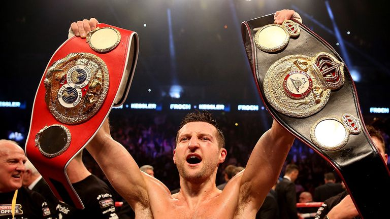 Froch has the straps but Ward holds the cards, says Jim