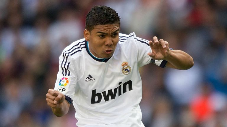 Casemiro: Has impressed during loan spell at Real Madrid