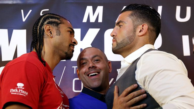 David Haye (L) and Manuel Charr: Will go toe-to-toe on June 29