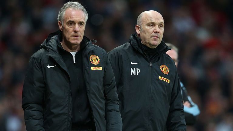 Eric Steele and Mike Phelan: Leaving Old Trafford not long after Sir Alex