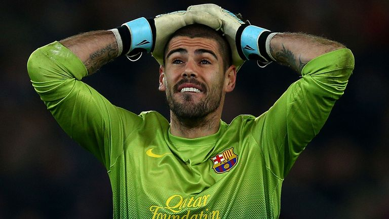 Victor Valdes: Barcelona goalkeeper set to leave Camp Nou in the summer