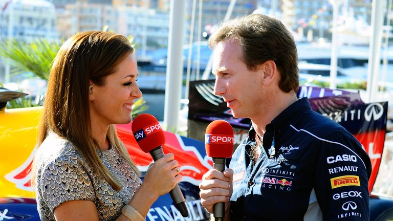 Christian Horner: Shocked and honoured by OBE