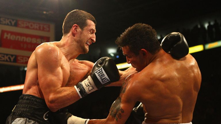 Robin Reid: Expects his old foe Carl Froch to produce a dominant win