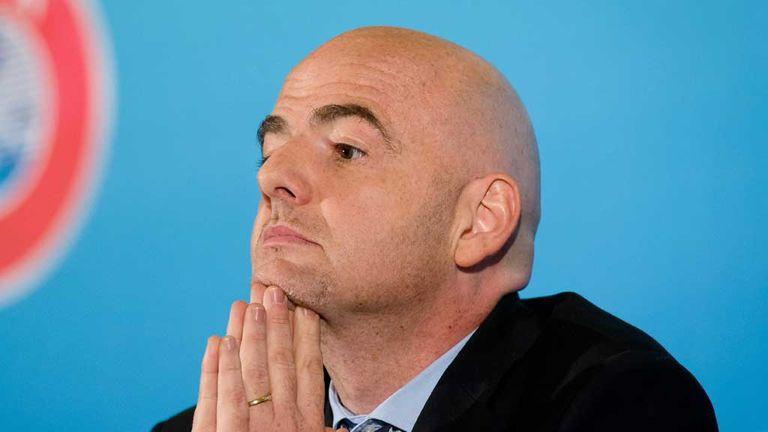 Gianni Infantino: UEFA general secretary reveals racism sanctions