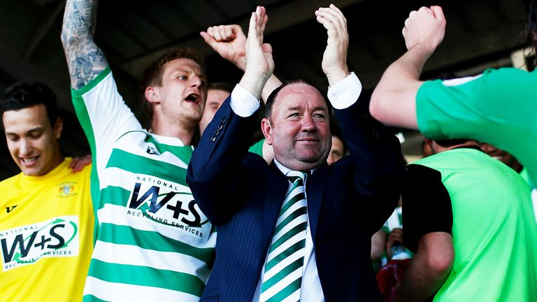 Gary Johnson: steered Yeovil Town to promotion last season
