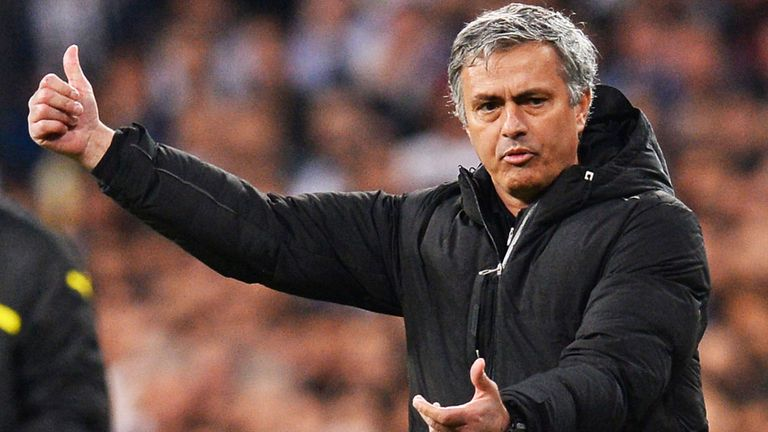 Jose Mourinho: Congratulated Barcelona on their title win