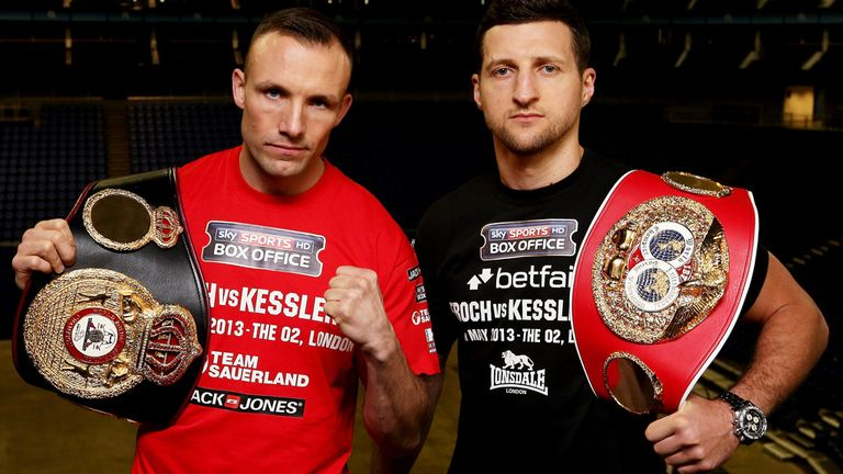 Mikkel Kessler: Preparing to face Carl Froch later this month