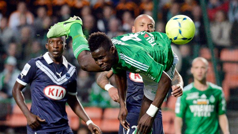 Kurt Zouma: The young defender played 18 games and scored twice for St Etienne in last season's Ligue 1 campaign