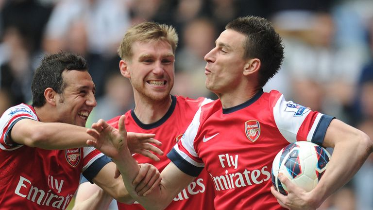 Laurent Koscielny: Confident in Arsenal team-mates