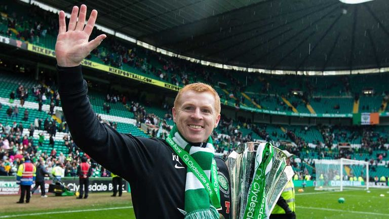 Lennon with SPL trophy
