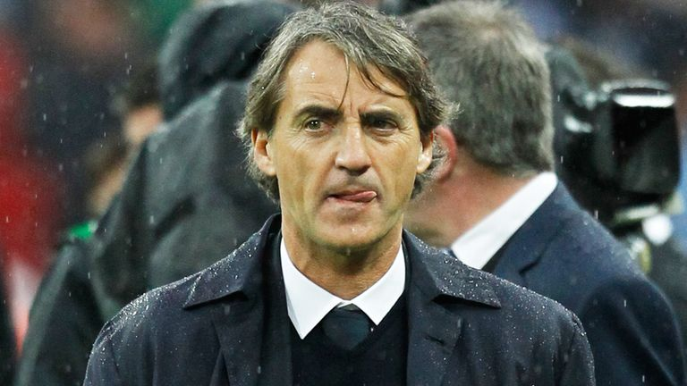 Roberto Mancini: Still manager at Manchester City despite growing speculation