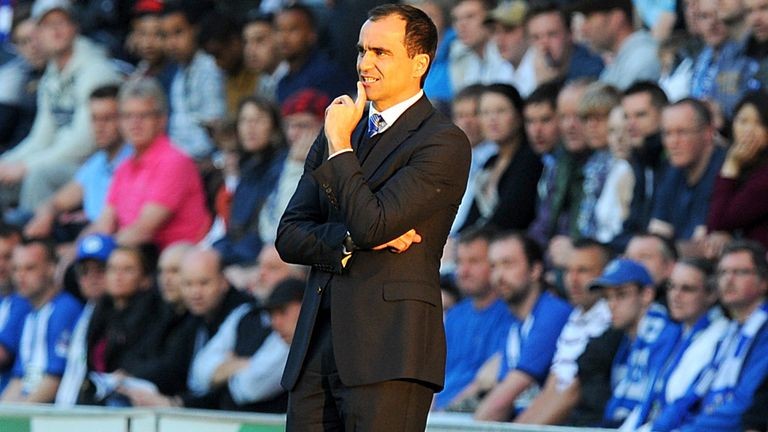 Roberto Martinez: Wigan boss shows support to charity