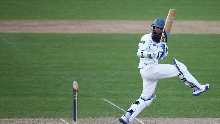 Moeen Ali: Worcestershire skipper showcased his wide range of strokes on day two