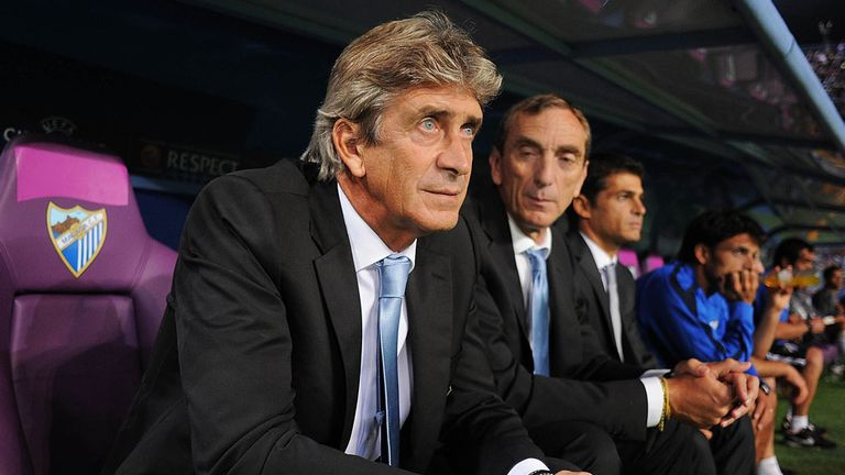 Manuel Pellegrini: Led both Villarreal and Malaga to the latter stages of the Champions League