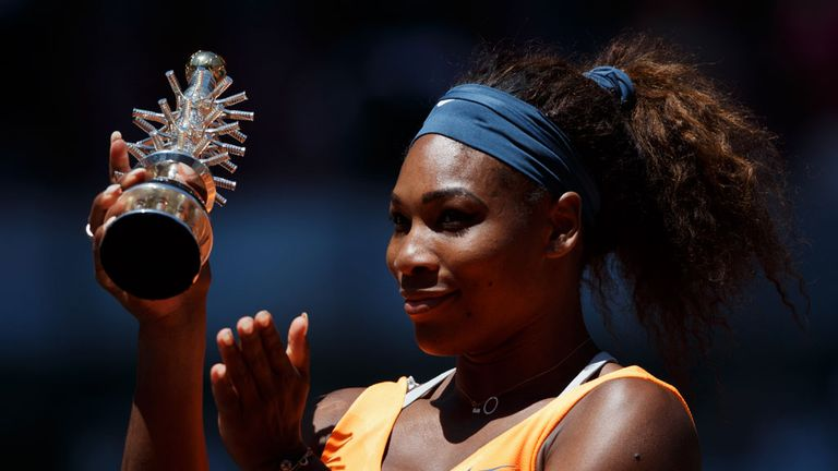Serena Williams: Retained her Madrid Open title in style