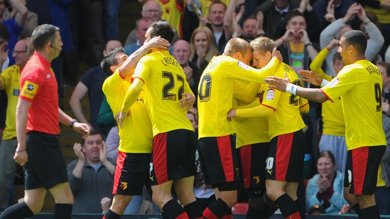 Watford: Celebrate their win