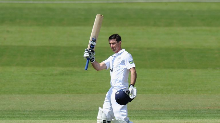 Wayne Madsen: Derbyshire skipper passed 1,000 Championship runs with an unbeaten century