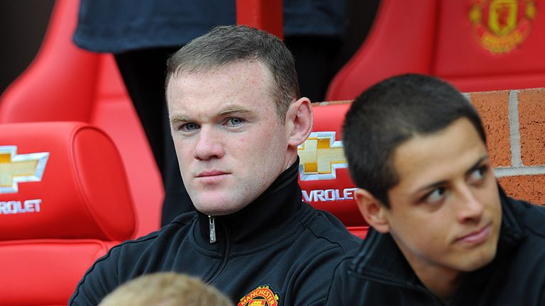 Wayne Rooney: Could be set for bench duty at Manchester United