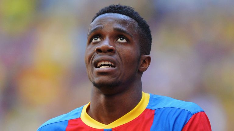 Wilfried Zaha: Tipped to succeed at Manchester United by former boss Dougie Freedman