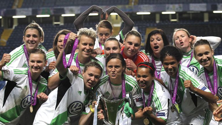 Wolfsburg: Retained the trophy they won in 2013