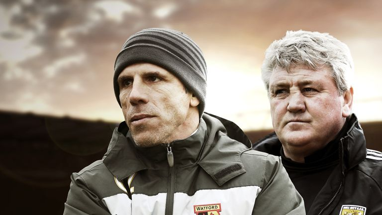 Gianfranco Zola and Steve Bruce have their sights set on Premier League