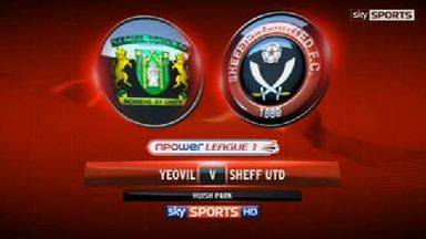 Yeovil 2-0 Sheff Utd