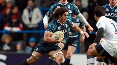 Cardiff's Navidi excited for televised encounter with Munster