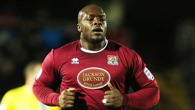 Adebayo Akinfenwa: Released by Cobblers