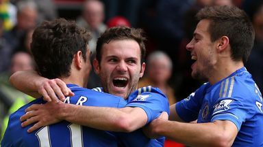 Juan Mata: Helped Chelsea to three points and third place in the table