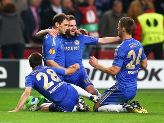 Ivanovic celebrates his dramatic late winner