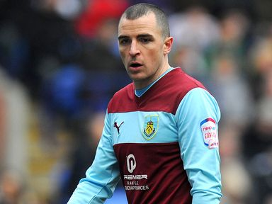 Marney: Got on of the goals for Burnley