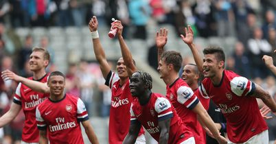 Arsenal: Celebrate making the Champions League
