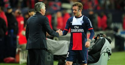 Becks send off, Nancy go down