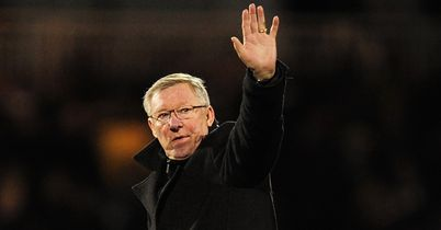 Sir Alex Ferguson: Waving goodbye to Manchester United