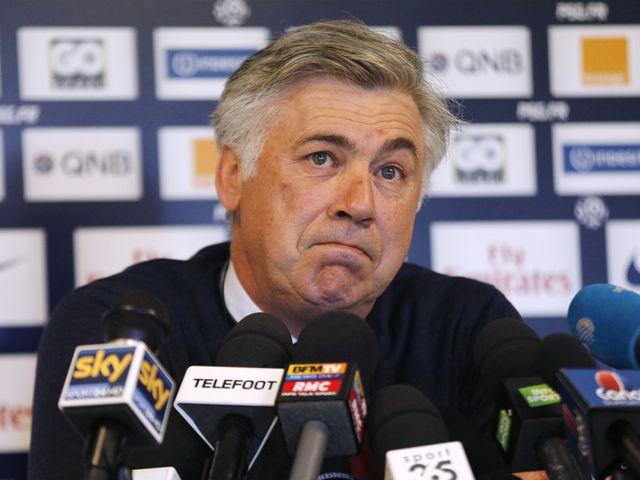 Carlo Ancelotti: Says he is happy to remain at PSG next season