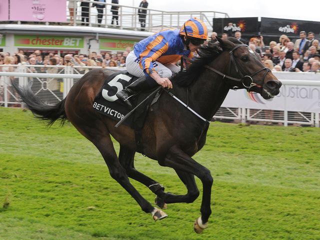 Magician storms clear to win the Dee Stakes